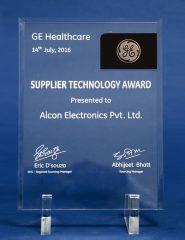 GE Healthcare Supplier Technology Award